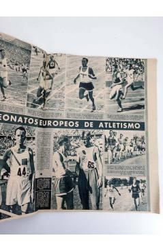 Muestra 1 de MARCA SEMANARIO GRÁFICO DE LOS DEPORTES 183. TRES AÑOS. CAMPRODÓN VENCEDOR. 11 AGO 1942 (Vvaa) Marca 1942