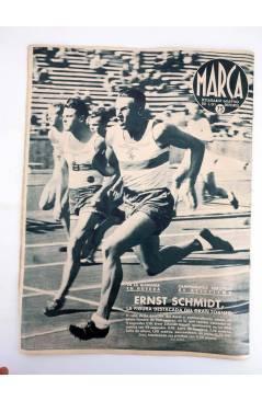 Muestra 3 de MARCA SEMANARIO GRÁFICO DE LOS DEPORTES 183. TRES AÑOS. CAMPRODÓN VENCEDOR. 11 AGO 1942 (Vvaa) Marca 1942