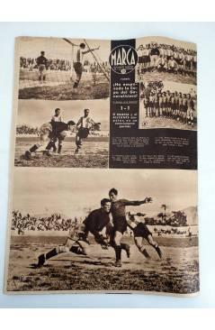 Muestra 4 de MARCA SEMANARIO GRÁFICO DE LOS DEPORTES 168. ADRID VENCEDOR. 28 ABRIL 1942 (Vvaa) Marca 1942