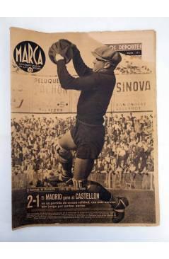 Muestra 5 de MARCA SEMANARIO GRÁFICO DE LOS DEPORTES 168. ADRID VENCEDOR. 28 ABRIL 1942 (Vvaa) Marca 1942