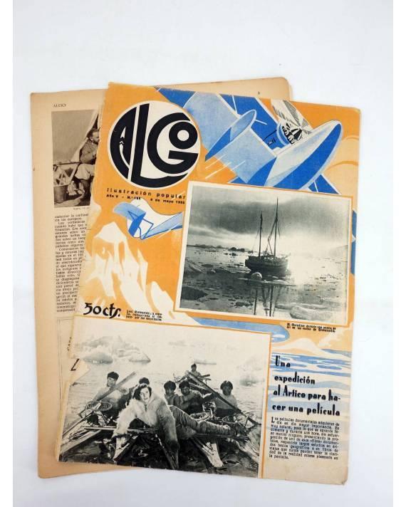 Cubierta de REVISTA ALGO. ILUSTRACIÓN POPULAR 195. CUBIERTA E. FREIXAS. 6 MAYO (Vvaa) Algo 1933