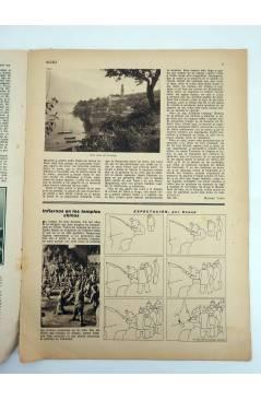 Contracubierta de REVISTA ALGO. SEMANARIO ENCICLOPÉDICO 191. CUBIERTA E. FREIXAS. 8 ABRIL (Vvaa) Algo 1933
