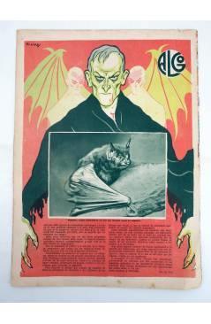 Muestra 2 de REVISTA ALGO. SEMANARIO ENCICLOPÉDICO 191. CUBIERTA E. FREIXAS. 8 ABRIL (Vvaa) Algo 1933