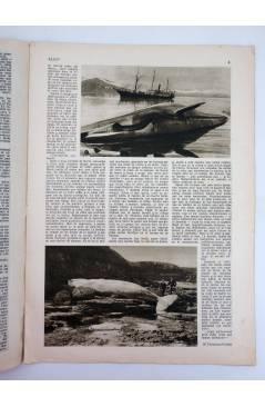 Contracubierta de REVISTA ALGO. SEMANARIO ENCICLOPÉDICO 184. CUBIERTA FEMENÍA. 18 FEBRERO (Vvaa) Algo 1933