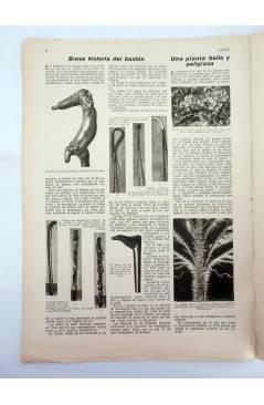 Muestra 2 de REVISTA ALGO. SEMANARIO ENCICLOPÉDICO 184. CUBIERTA FEMENÍA. 18 FEBRERO (Vvaa) Algo 1933