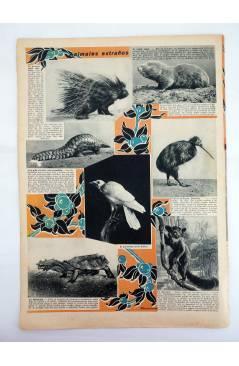 Muestra 3 de REVISTA ALGO. SEMANARIO ENCICLOPÉDICO 184. CUBIERTA FEMENÍA. 18 FEBRERO (Vvaa) Algo 1933