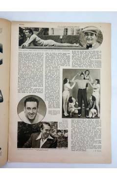Contracubierta de REVISTA ALGO. SEMANARIO ENCICLOPÉDICO 183. CUBIERTA FEMENÍA. 11 FEBRERO (Vvaa) Algo 1933
