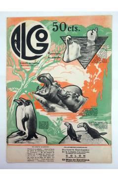 Cubierta de REVISTA ALGO. SEMANARIO ENCICLOPÉDICO 177. 31 DE DICIEMBRE (Vvaa) Algo 1932