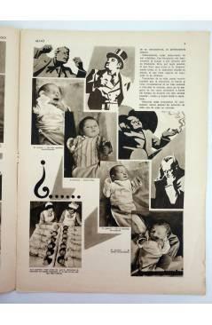 Contracubierta de REVISTA ALGO. SEMANARIO ENCICLOPÉDICO 177. 31 DE DICIEMBRE (Vvaa) Algo 1932