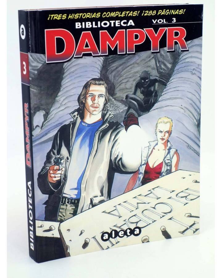 Cubierta de BIBLIOTECA DAMPYR VOL 3 (Mauro Boselli Y Alfonso Font) Aleta 2013