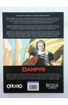 Contracubierta de BIBLIOTECA DAMPYR VOL 3 (Mauro Boselli Y Alfonso Font) Aleta 2013
