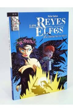 Cubierta de LOS REYES ELFOS. LA EMPERATRIZ DE HIELO (Victor Santos / Vicente Cifuentes) Dolmen 2008