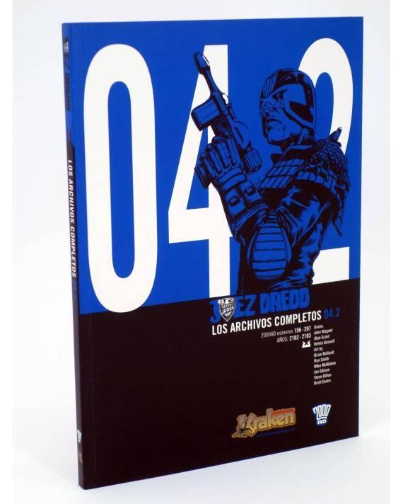 Cubierta de JUEZ DREDD LOS ARCHIVOS COMPLETOS 04.2. 2000AD 156-207 (Vvaa) Kraken 2011