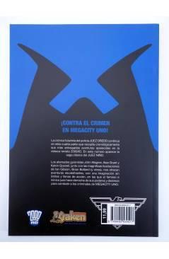 Contracubierta de JUEZ DREDD LOS ARCHIVOS COMPLETOS 04.2. 2000AD 156-207 (Vvaa) Kraken 2011