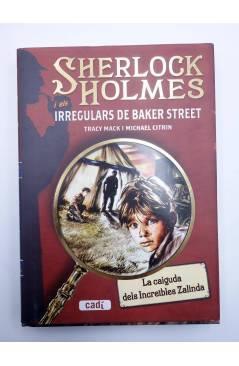 Contracubierta de SHERLOCK HOLMES I ELS IRREGULARS DE BAKER STREET 1 A 4 COMPLETA (Mack / Citrin) Cadí 2009