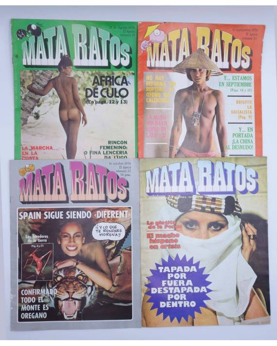 Cubierta de MATA RATOS II ÉPOCA 19 22 27 Y 31 (Vvaa) Garbo 1976