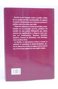 Contracubierta de LAS IDEAS Y LOS HOMBRES. PUNTA DE LANZA (Vicente Luís De Cecilio García Del Moral) Tetragrama 2002