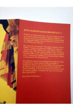 Contracubierta de TERRY GILLIAM EL DESAFÍO DE LA IMAGINACIÓN (Juan Agustin Mancebo Roca Ed) T&B 2010