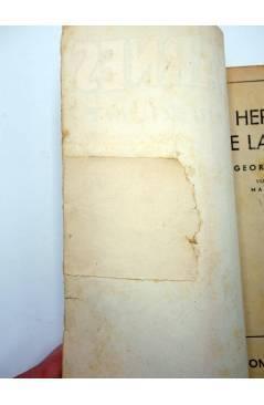 Muestra 2 de HOMBRES AUDACES 120. BILL BARNES 31 LA HERMANDAD DE LA MUERTE (George L. Eaton) Molino 1946