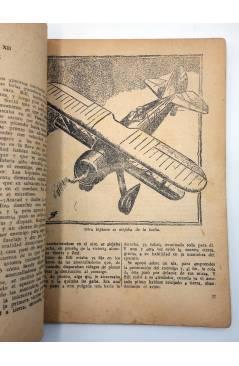 Muestra 3 de HOMBRES AUDACES 120. BILL BARNES 31 LA HERMANDAD DE LA MUERTE (George L. Eaton) Molino 1946