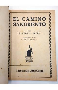 Muestra 1 de HOMBRES AUDACES 128. BILL BARNES 33 EL CAMINO SANGRIENTO (George L. Eaton) Molino 1946