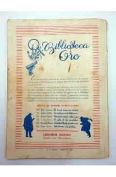 Muestra 3 de HOMBRES AUDACES 128. BILL BARNES 33 EL CAMINO SANGRIENTO (George L. Eaton) Molino 1946