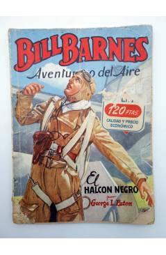 Contracubierta de HOMBRES AUDACES 139. BILL BARNES 36 EL HALCÓN NEGRO (George L. Eaton) Molino 1947