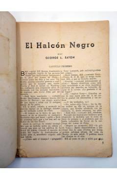 Muestra 1 de HOMBRES AUDACES 139. BILL BARNES 36 EL HALCÓN NEGRO (George L. Eaton) Molino 1947