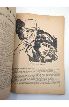 Muestra 3 de HOMBRES AUDACES 139. BILL BARNES 36 EL HALCÓN NEGRO (George L. Eaton) Molino 1947