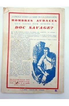 Muestra 3 de HOMBRES AUDACES 148. BILL BARNES 38 LA EMISORA SECRETA (George L. Eaton) Molino 1947