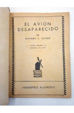 Muestra 1 de HOMBRES AUDACES 160. BILL BARNES 41 EL AVIÓN DESAPARECIDO (George L. Eaton) Molino 1947