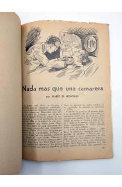 Muestra 2 de HOMBRES AUDACES 160. BILL BARNES 41 EL AVIÓN DESAPARECIDO (George L. Eaton) Molino 1947