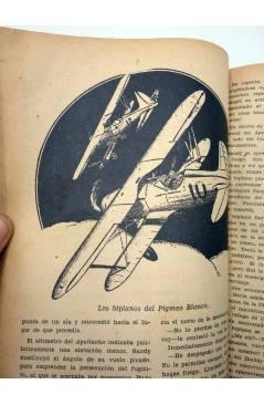 Muestra 2 de HOMBRES AUDACES ARGENTINA 124. BILL BARNES 32 EL PIGMEO BLANCO (George L. Eaton) Molino 1941