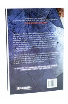 Contracubierta de LOS REBELDES DE CROW (Javier Márquez Sánchez) Hidra 2011