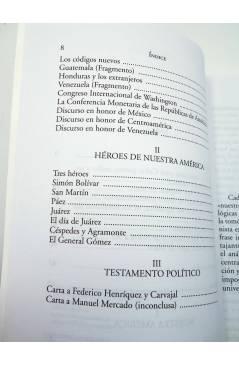 Muestra 2 de CLÁSICOS DEL PENSAMIENTO ECONÓMICO Y SOCIAL 11. DEL BRAVO A MAGALLANES. TEXTOS SOBRE NUESTRA AMÉRICA (José