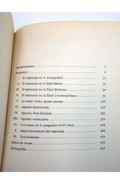Muestra 4 de HISTORIA DEL ESPIONAJE (D. Pastor Petit) Delos 1967