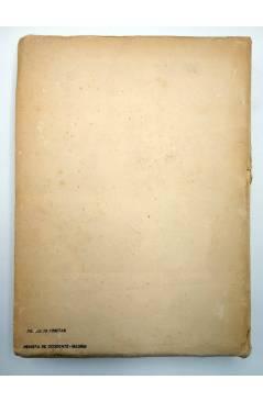 Contracubierta de EL ARTE DE LOS GRIEGOS (Arnold Von Salis) Revista de Occidente 1948
