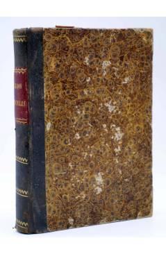 Cubierta de MANUAL ENCICLOPÉDICO TEORICO PRACTICO DE LOS JUZGADOS MUNICIPALES (Fermin Abella) E. de la Riva 1871
