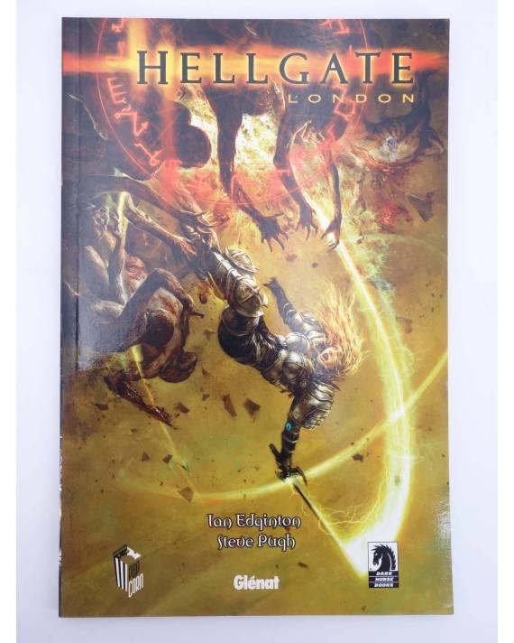 Cubierta de HELLGATE LONDON (Ian Edington / Steve Pugh) Glenat 2008