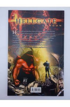 Contracubierta de HELLGATE LONDON (Ian Edington / Steve Pugh) Glenat 2008