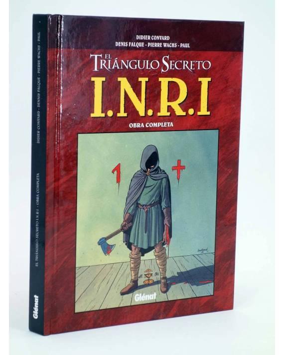 Cubierta de INRI I.N.R.I. EL TRIÁNGULO SECRETO INTEGRAL (Convard / Falque / Wachs) Glenat 2009