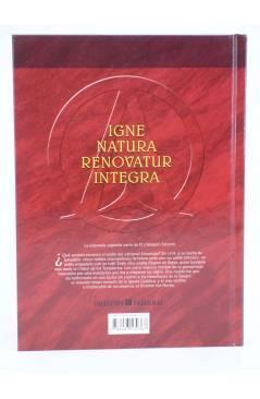 Contracubierta de INRI I.N.R.I. EL TRIÁNGULO SECRETO INTEGRAL (Convard / Falque / Wachs) Glenat 2009