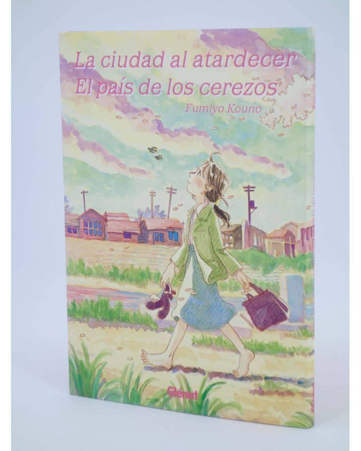 Cubierta de LA CIUDAD AL ATARDECER / EL PAÍS DE LOS CEREZOS (Fumiyo Kôno) Glenat 2007
