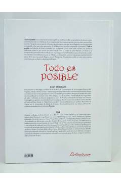 Contracubierta de TODO ES POSIBLE (Tha - Joan Tharrats) Glenat 2008