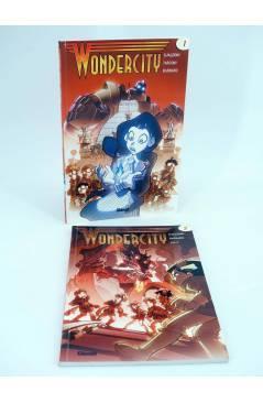 Cubierta de WONDERCITY 1 Y 2. COMPLETA (Gualdoni / Traconi / Barbaro) Glenat 2008