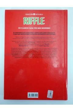 Contracubierta de RIFFLE (Josep Toutain / Rafael López Espí) Glenat 2013