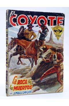 Cubierta de EL COYOTE 36. La roca de los Muertos (José Malloquí) Cliper 1946