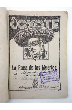 Muestra 1 de EL COYOTE 36. La roca de los Muertos (José Malloquí) Cliper 1946