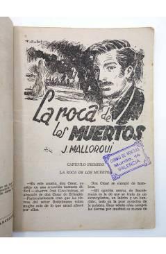 Muestra 2 de EL COYOTE 36. La roca de los Muertos (José Malloquí) Cliper 1946
