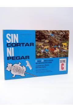 Cubierta de SIN CORTAR NI PEGAR. SERIE C 8 LÁMINAS 24 ANIMALES DISTINTOS (No Acreditado) Toray 1971